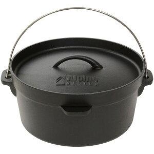 Alpine DESIGN (アルパインデザイン) ダッジオーブン10インチ キャンプ用品 クッカー ダッチオーブン AD-S20-015-004