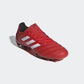 ● adidas (アディダス) サッカー スパイク コパ 20.3 HG/AG メンズ アクティブレッド/フットウェアホワイト/コアブラック DUY85 EG1613