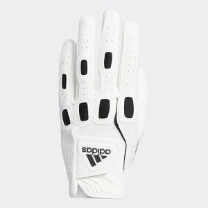 adidas (アディダス) マルチフィット9 グローブ ゴルフ メンズゴルフグローブ メンズ ホワイト/ブラック GUX35-FM3075