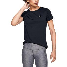 UNDER ARMOUR (アンダーアーマー) レディーススポーツウェア Tシャツ 20F UA TECH SSC - SOLID 1 1358592 001