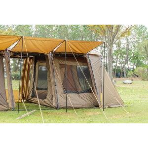 TARAS BOULBA(タラスブルバ) キャタピラー2ルームシェルター用 インナーテント キャンプ用品 ファミリーテント カーキ TB-S20-015-005