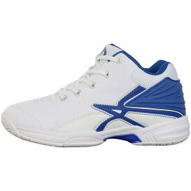 ● s.a.gear (エスエーギア) SAGEARジュニアバスケットシューズ バスケットボール ジュニア シューズ ジュニア ホワイト/ブルー SA-Y20-003-021