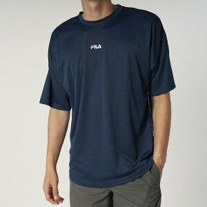 FILA(フィラ) FILA 杢半袖Tシャツ サマー レジャー メンズラッシュガード メンズ MNV 420904