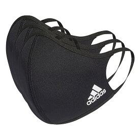 【3店買い回りで最大P10倍!1/9から1/16まで】adidas (アディダス) フェイスカバー 3枚組(M/L) / Face Covers M/L 3-Pack スポーツアクセサリー 雑貨 NS ブラック KOH81 H08837