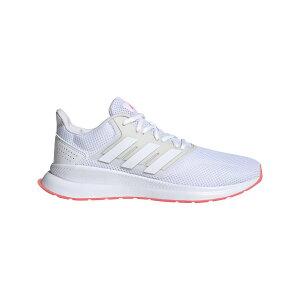 ● adidas (アディダス) FALCONRUN W ランニング ジョギングシューズ レディース レディース フットウェアホワイト/フットウェアホワイト/シグナルピンク DBG98 FW5142