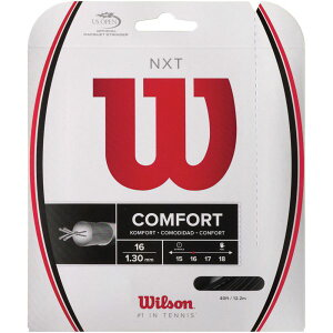 WILSON (ウィルソン) NXT 16 BLK テニス ストリングス BLK WRZ942800