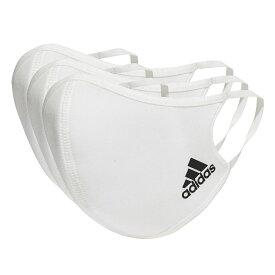 adidas (アディダス) フェイスカバー 3枚組(M/L) / Face Covers M/L 3-Pack スポーツアクセサリー 雑貨 NS ホワイト/ブラック KOH81 H34578