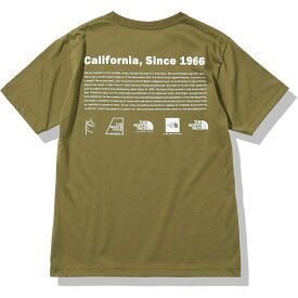 THE NORTH FACE (ノースフェイス) S/S Historical Logo Tee (ショートスリーブヒストリカルロゴティー) トレッキング アウトドア 半袖Tシャツ メンズ MO NT32159 MO
