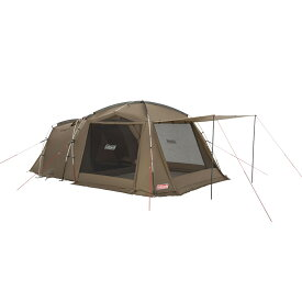 コールマン(COLEMAN) アテナタフスクリーン2ルームハウス キャンプ用品 ファミリーテント タン 2000038557