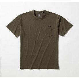 THE NORTH FACE (ノースフェイス) 【スポーツオーソリティ限定商品】S/S SIMPLE LOGO POCKET TEE (ショートスリーブ シンプルロゴポケットティー) トレッキング アウトドア 半袖Tシャツ メンズ NT NT321003A NT