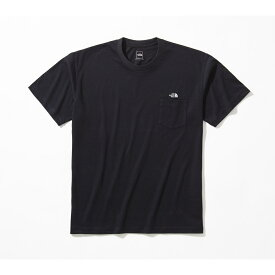 THE NORTH FACE (ノースフェイス) 【スポーツオーソリティ限定商品】S/S SIMPLE LOGO POCKET TEE (ショートスリーブ シンプルロゴポケットティー) トレッキング アウトドア 半袖Tシャツ メンズ K NT321003A K