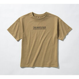 THE NORTH FACE (ノースフェイス) 【スポーツオーソリティ限定商品】S/S MESSAGE LOGO TEE (ショートスリーブ メッセージロゴティー) トレッキング アウトドア 半袖Tシャツ レディース KT NTW32101A KT