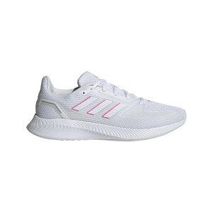 ● adidas (アディダス) CORERUNNER W ランニング ジョギングシューズ レディース レディース フットウェアホワイト/フットウェアホワイト/スクリーミングピンク LEB66 FY9623