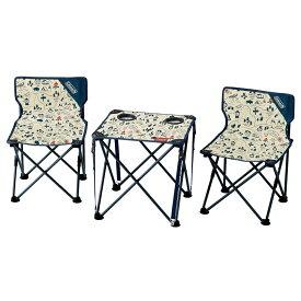 ● コールマン(COLEMAN) コンパクトチェアテーブルセット(キャンプマップ) キャンプ用品 キッチンテーブル 一体型テーブル キャンプマップ 2000034615