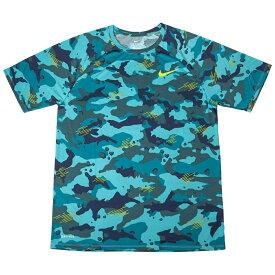 ナイキ DRI-FITレジェンドカモ Tシャツ 923524 トパーズミスト/ブライトカクタス