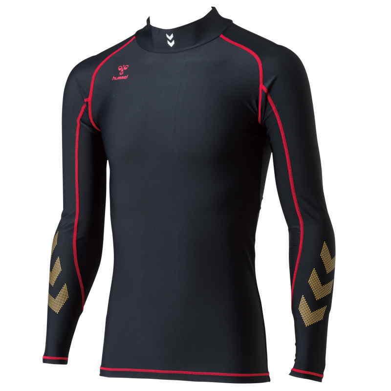 ヒュンメル ロングインナーシャツ HAP5135 ブラック
