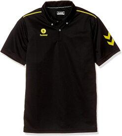 ヒュンメル 半袖ワンポイントポロシャツ HAY2101 ブラック(代引不可)