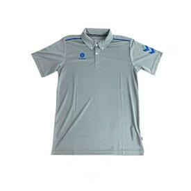 ヒュンメル 半袖ワンポイントポロシャツ HAY2101 Sグレー(代引不可)