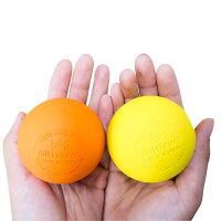 ラクロスボールバラ売りオレンジイエロー