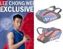 リーチョンウェイモデル LeeCHongWei ヨネックス YONEX ラケットバッグ6(リュック付き)テニス バドミントン