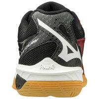 ミズノバドミントンシューズウェーブクロー(71GA1910)3E相当の方向け室内体育館靴軽量速さでゲームを支配する。軽量性と加速性のスピードモデルMIZUNObadmintonshoes
