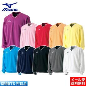 ソフトテニス バドミントン ウェア ミズノ MIZUNO スウェットシャツ (中厚素材)A75LM100 badminton (ソフトテニス ウェア テニスウェア 軟式テニス バドミントン スウェット ミズノ 防寒 soft tennis wear)