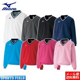 ソフトテニス バドミントン ウェア ミズノ MIZUNO スウェットシャツ (肉厚素材)A75LM250 badminton(ソフトテニス ウェア テニスウェア 軟式テニス バドミントン スウェット ミズノ 防寒 soft tennis wear)