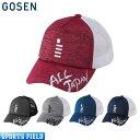 【限定】2019春限定モデル ゴーセン GOSEN 2019 ALL JAPAN キャップ ヘザー杢 C19A02 帽子 (ゴーセン キャップ 2019 軟式テニス ソフト…