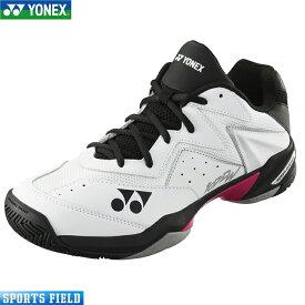 ソフトテニス シューズ ヨネックス YONEX パワークッション107Dワイド(SHT107DW)4Eワイド設計 クレー・砂入り人工芝コート用 ソフトテニス 軟式テニス YONEX tennis shoes