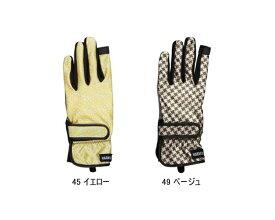 HATACHI(ハタチ) グラウンドゴルフグローブ スリムレディース指切手袋 BH8055