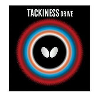 Butterfly (butterfly) back soft rubber tackiness DRIVE (tackiness drive)
