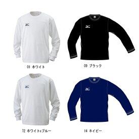 MIZUNO(ミズノ) ジュニア長袖Tシャツ NAVI DRY(ナビドライ) 32JA6427