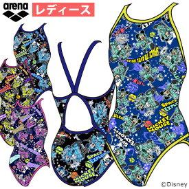 ce447144606 お買い物マラソン19%OFF☆アリーナ 練習用水着 練習 水着 ディズニー レディース