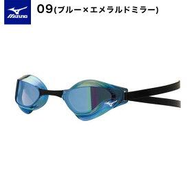 アウトレット ミズノ mizuno ゴーグル FINA承認 GX・SONIC EYE J ノンクッション タイプ GXソニック 低抵抗 ブルー/ブラック/レッド 水泳 競泳 スイムゴーグル スイムグラス