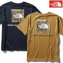 [予約販売] ノースフェイス メンズ Tシャツ ロゴ カモ [S/S LOGO CAMO TEE] NT32035 [...