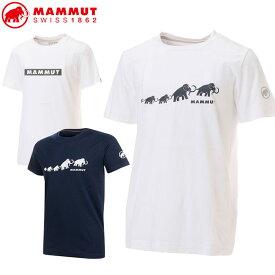 マムート メンズ Tシャツ QD Logo Print T-Shirt AF Men 101702010 半袖 MAMMUT
