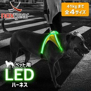 ポイント5倍★犬用 ハーネス LED 光る 夜間 散歩 雨天使用可能 水洗い 洗える 耐久性 ライトハウンド LIGHTHOUND マルチカラー 小型犬 中型犬 大型犬 イルミネーション モード 搭載 軽い 視認性