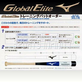 mizuno(ミズノ)! 硬式バット 『グローバルエリート オーダートレーニングバット 打撃可能モデル』 <2TT23100T3> 【野球用品】【ベースボール】【スポーツ】