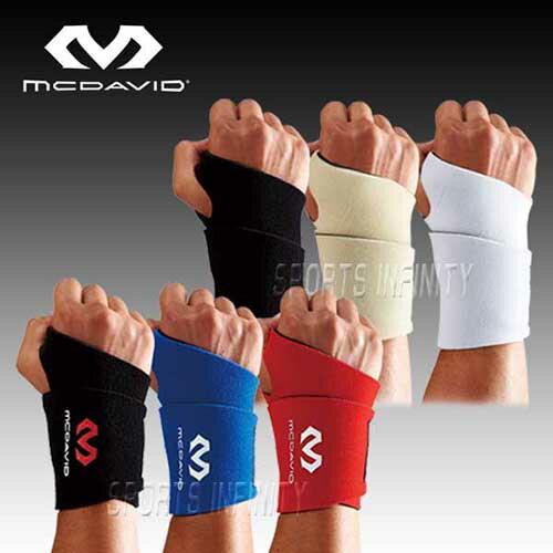 【刺繍無料】 McDavid(マクダビッド)! リストサポート 『学生野球ルール対応 左右兼用』 <MVJ M451F> 【野球用品】【手首用】【リストガード】【スポーツ】