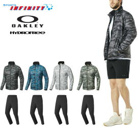 【30%OFF】【返品・交換不可】OAKLEY(オークリー)!『Enhance Graphic Wind Warm Jacket 8.7&Enhance Wind Warm Pants 8.7』ウィンドブレーカー上下組 <412584-422456>