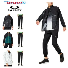 【30%OFF】【返品・交換不可】【送料無料対象外】OAKLEY(オークリー)!テニスウエア 『PC Dry Explosion Cloth Jacket&PANTS』ウィンドブレーカー上下組