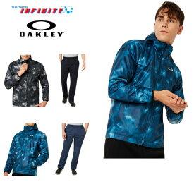 【送料無料】OAKLEY(オークリー)!ウィンドブレーカー上下組『Enhance Wind Warm Jacket 9.7&Warm Pants 9.7』<412822-422656JP>
