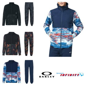 【返品・交換不可】OAKLEY(オークリー)! ウィンドブレーカー上下組『Mobility hybrid Jacket&hybrid Pants』 <FOA400834-FOA400818>