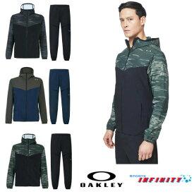 【返品・交換不可】OAKLEY(オークリー)! ウィンドブレーカー上下組『Enhance Mobility Jacket&Pants』 <FOA400805-FOA400823>