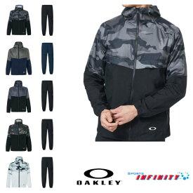 【返品・交換不可】OAKLEY(オークリー)! ウィンドブレーカー上下組『Enhance Wind Jacket 10.0&Pants』 <FOA400806-FOA400823>