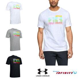 【返品・交換不可】UNDER ARMOUR(アンダーアーマー)! トレーニングウエア 『UA マルチ ロゴ Tシャツ』<1348433>