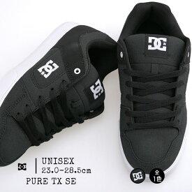 ディーシーシューズ dc レディース メンズ スニーカー スケートシューズ スケシュー PURE TX SE DM184026