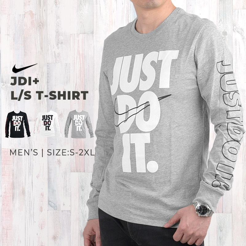 ポイント5倍!【~12/11まで】ナイキ nike Tシャツ 長袖 メンズ JDI+ L/S Tシャツ 929375