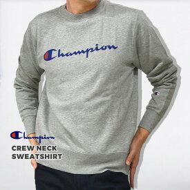 【300円OFFクーポン】チャンピオン champion メンズ トレーナー スウェット カジュアル ウエア CREW NECK SWEATSHIRT クルー ネック スウェットシャツ C3-Q002 黒 白 グレー