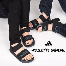 アディダス adidas サンダル レディース メンズ サンダル スポーツ カジュアル ファッション ADILETTE SANDAL アディレッタサンダル F35417 黒